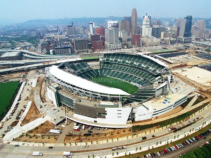 Paul Brown Stadium, Cincinnati OH - Seating Chart View - We have Tickets to all Bengals and Bearcats Games!