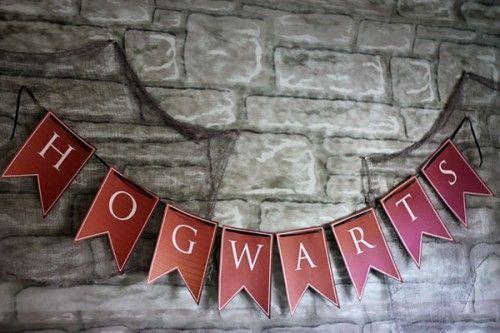 Детский праздник в стиле Гарри Поттера