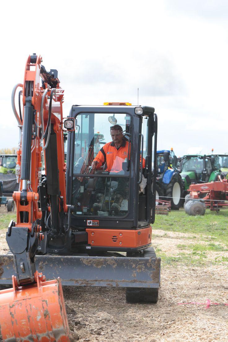 National Excavator skills challenge 2017 Day two