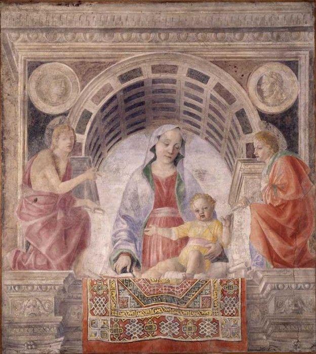 Vincenzo Foppa, Madonna del Tappeto (1485)