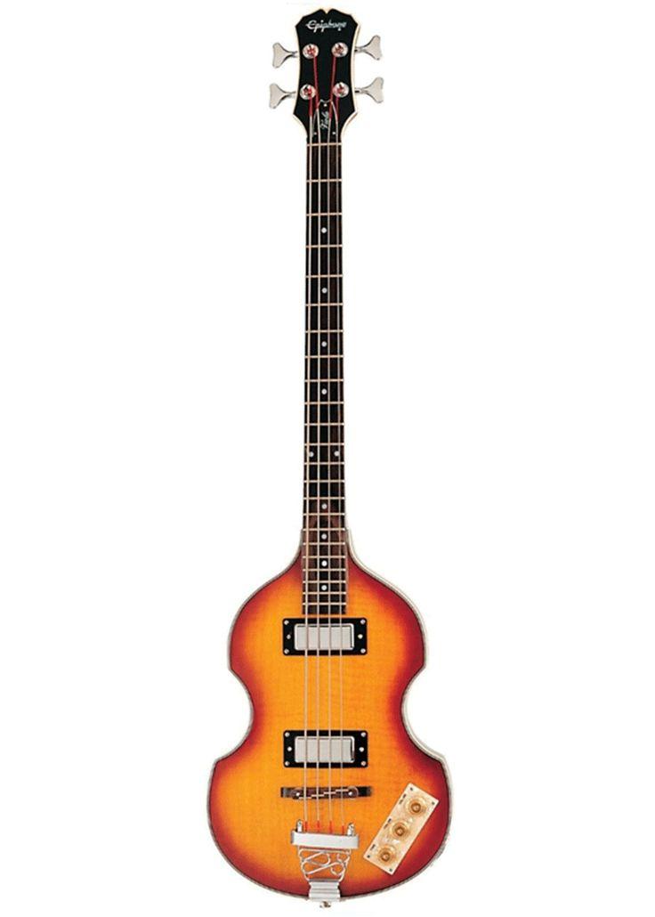 Epiphone Viola Bass, este veterano de la invasión británica esta de vuelta sin la etiqueta del precio vintage. #musicheadstore #electricguitar #guitar #epiphone