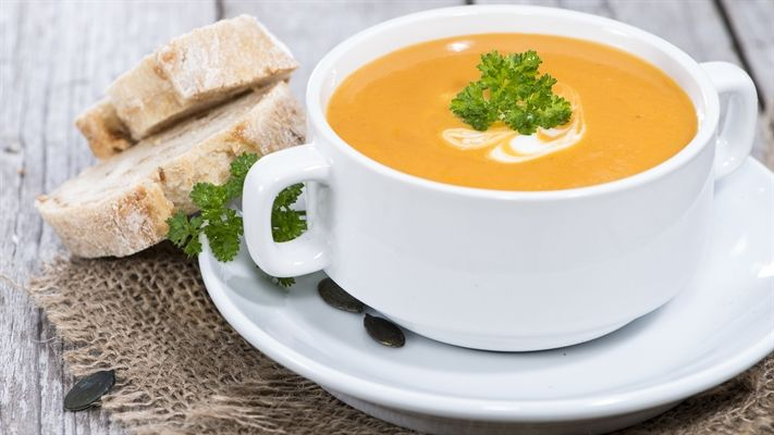The best pumpkin soup recipe ever   OverSixty