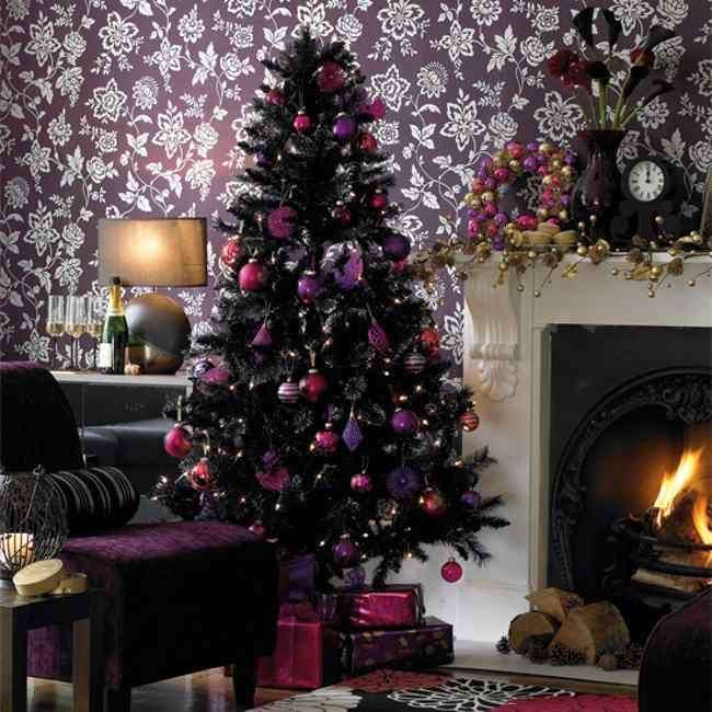 Alberi di Natale neri (Foto 9/40) | Stylosophy