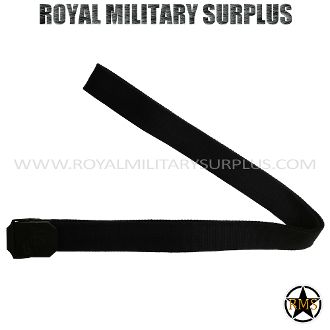"Belt - US Marine Corps Emblema - BLACK (Black Tactical) - 13,95$ (CAD) - BLACK (Black Tactical) US Marine Corps Service & Duty Design USMC Standard Military Specifications NSN 8465-01-322-1996 100% High-Density Nylon Material Metal Buckle (USMC Engraved Emblema) Precise & Solid for All Sizes ALICE & MOLLE System Compatible One Size: 46""x 1.5"" (117 CM x 7 CM) BRAND NEW WWW.ROYALMILITARYSURPLUS.COM"