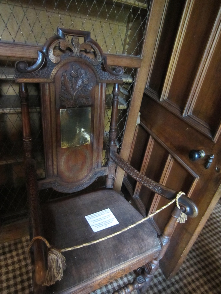 Rob Roy's chair!