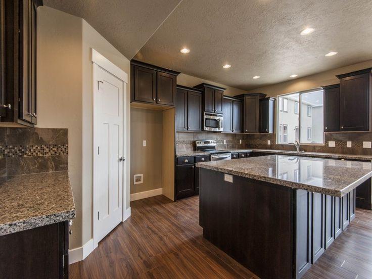 Kitchen Ideas With Dark Cabinets best 25+ caledonia granite ideas on pinterest | kitchen granite