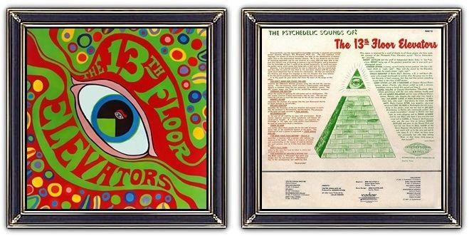 ♫ 13th Floor Elevators - The Psychedelic Sounds (1966) - Art & Design: John Cleveland - https://www.selected4u.net/caa/13thfloorelevators/thepsychedelicsounds/play.html
