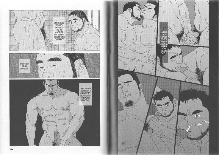 Gay bara manga