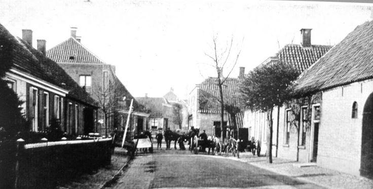 Oosteinde of de Voorstraat ? 1920