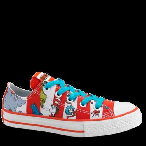 Dr. Seuss Converse.  I wonder if I wear these if people will take me seriously? I don't care I would wear them anyway!!