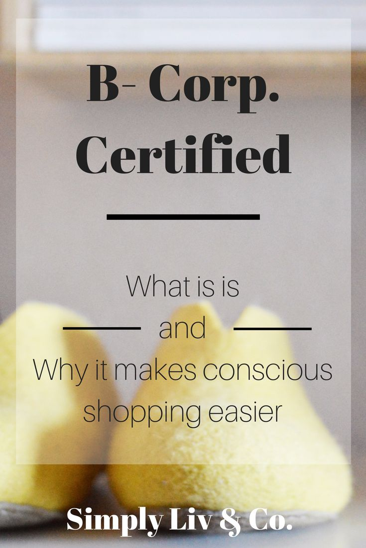 "Choosing to shop from ethical brands can bring skepticism into the mix. How do you know what the brand is claiming is really true? If you ever see the ""B Corp"" symbol on a brand's website, here's what it means and why it will make your shopping (and trust issues) easier."