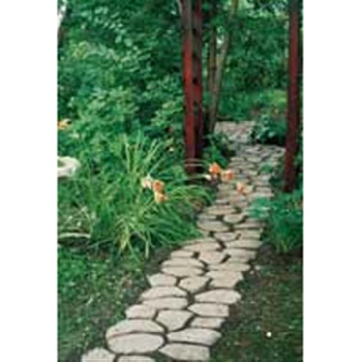 Concrete Garden Molds Such As Pathmate™ Stone Molds Will Help You To  Decorate Your Backyard Landscaping.