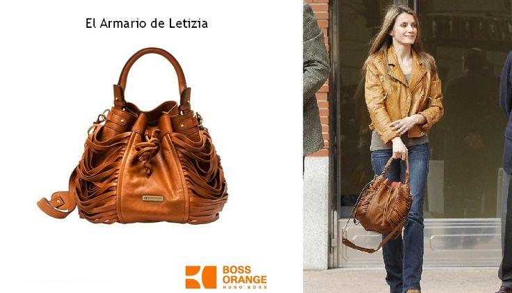 Letizia's handbag from Boss Orange