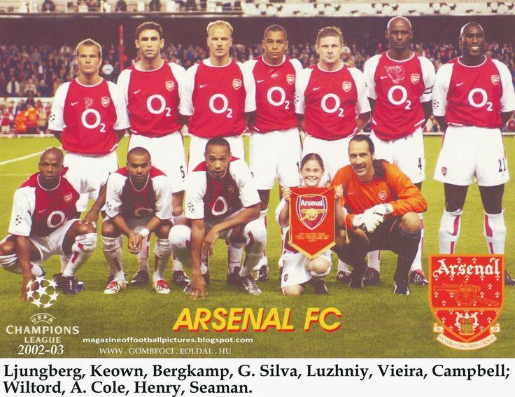 gombfocikepek.blogspot.com: Arsenal FC - csapatképek
