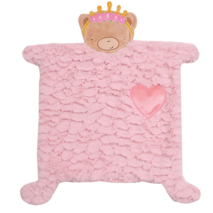Heart Security Blanket 2D Girl - Merdy Manufacturing and Importing Inc