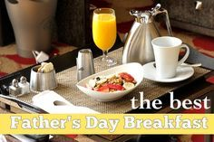 Father's Day Breakfast Ideas