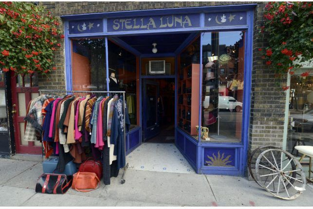 The best women's vintage store in the city! This tiny little shop is perfectly curated and merchandised. From time to time you can even find designer gems hidden within.