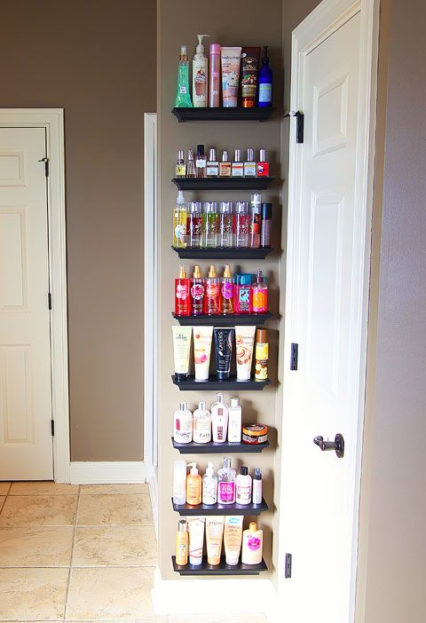 Beauty product organization. - I need this! I accumulate soooo much lol
