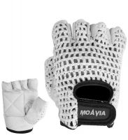 MS-1-109 Weight Lifting Gloves. Palm Genuine Leather with foam padding. Cotton mesh on Back. Velcro Strap Closer. Available in all regular colors and sizes. Comfortable fit and best for workout. Available in any color or design with your desired personalization. Custom logo or any kind of branding is possible.