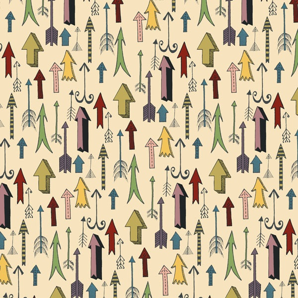 Daily Pattern No. 12 - Arrows  by Emma Henderson