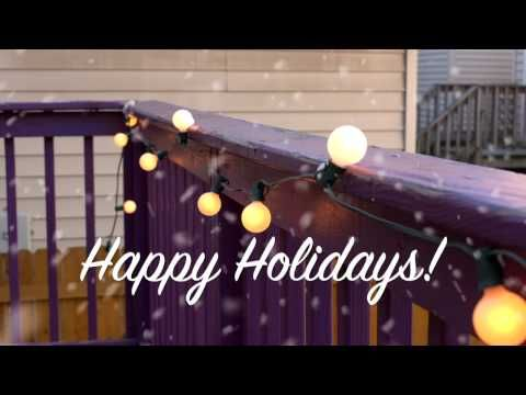 How to Hang Outdoor Holiday Lights | Home Hacks - YouTube