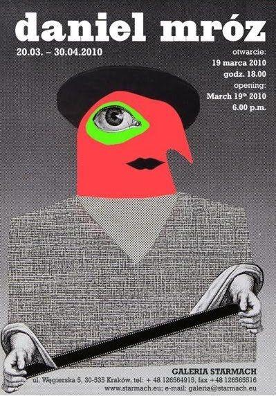 plakat Galerii Starmach w Krakowie