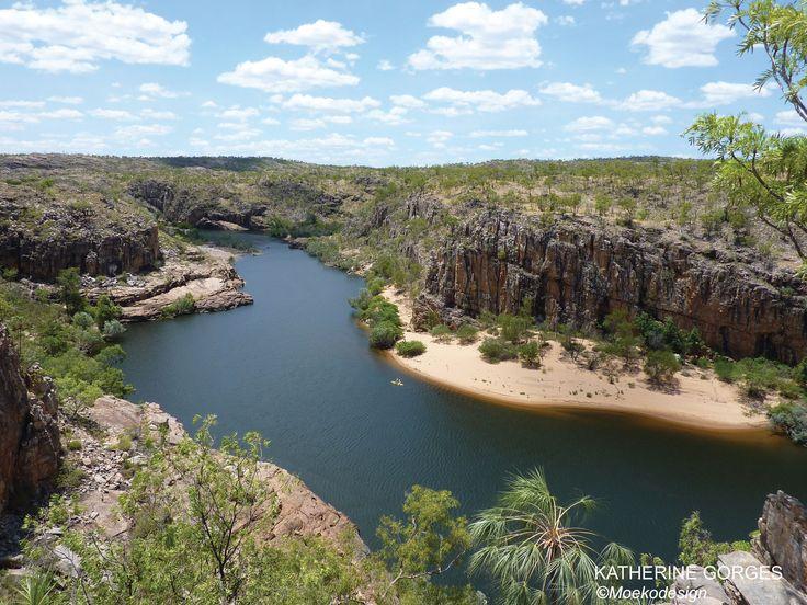 "Moeko at ""Katherine Gorge"" - Nitmiluk National Park - Northern Territory - Australia 2011   #travel, #voyage, #Australia, #dream, #world #oz #lake #river #wild"