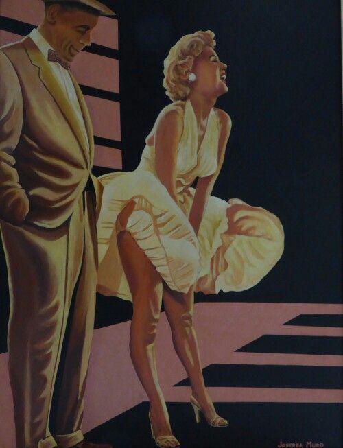 La tentación vive arriba, año 1980, 130 x 97 cm