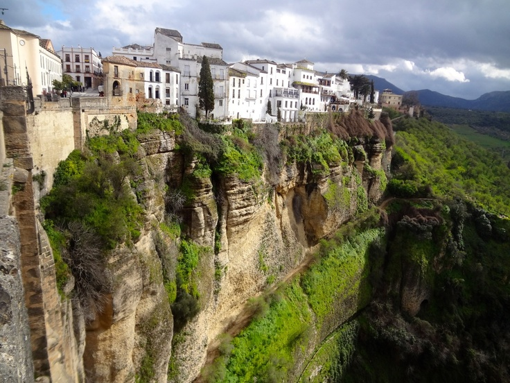Living on the edge in La Ronda, Spain. The birthplace of Bullfighting and famous for the deep El Tajo gorge
