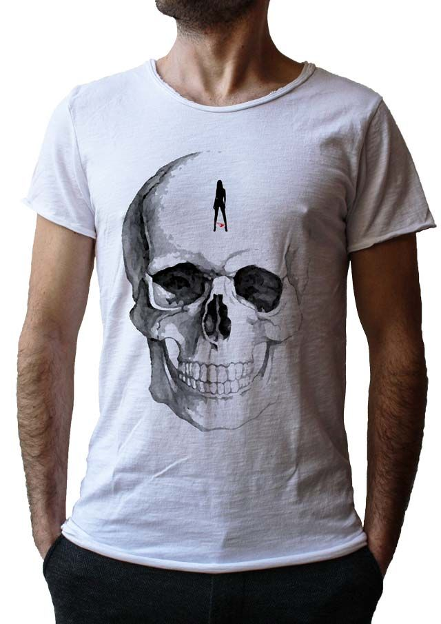 Men's T-Shirt JACK - Made in Italy - 100% Cotton - SKULL COLLECTION http://www.doubleexcess.com/