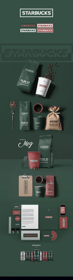 Starbucks - Rebranding by Simon Waloszek