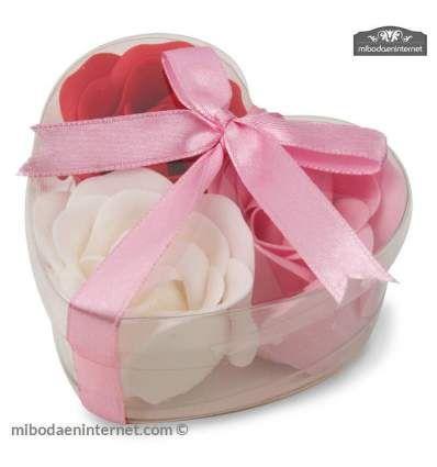 Estuche corazón Rosas Rojas