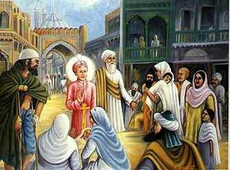 When Guru Harkrishan Sahib came to Delhi, tyhe city was then in the grip of an epidemic. Guru Ji went all over the city even in narrow lanes and bylanes. He gave succour to all in anguish without any discrimination whatsoever. His very presence and the Divine Look would rid the patients of their sufferings.