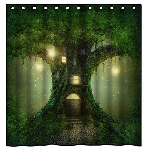 Saxon Case_Best Christmas Gift¡ªThe Tree House In Fairy T... Https: ·  Bathroom Shower CurtainsBathroom ...