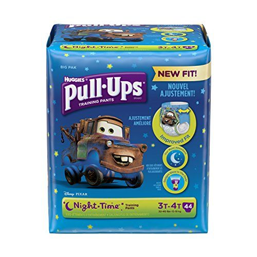With new leg fit for all-around protection, #Pull-Ups Night*Time Training Pants help teach toddlers potty training and offer reliable protection where they need ...