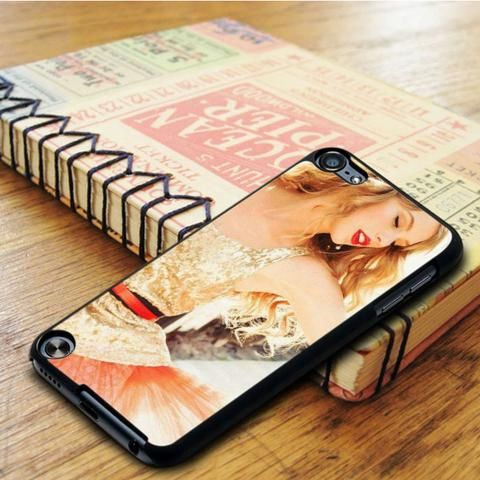 Taylor Swift Smile Cover Album Music Singer 1989 iPod 6 Touch Case