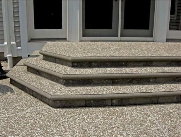 exposed aggregate patio   Customize Your Exposed Aggregate Surface for Your Home