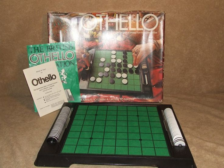Othello Game Boxed And Complete Vintage 1976 By Peter Pan Playthings