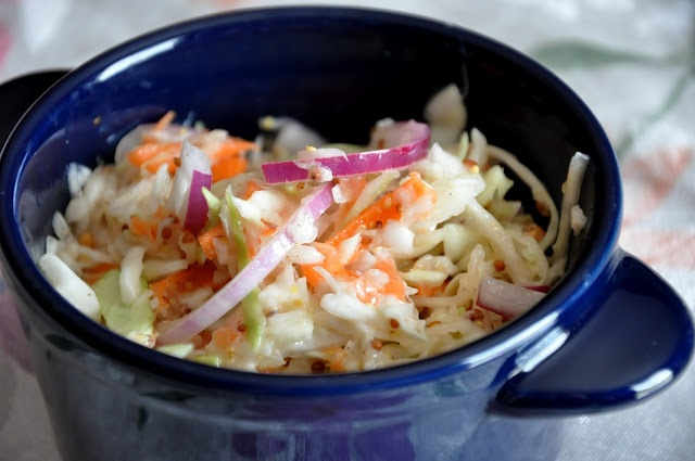 Tangy Coleslaw...Cooking Light | Things 2 try out ;) | Pinterest