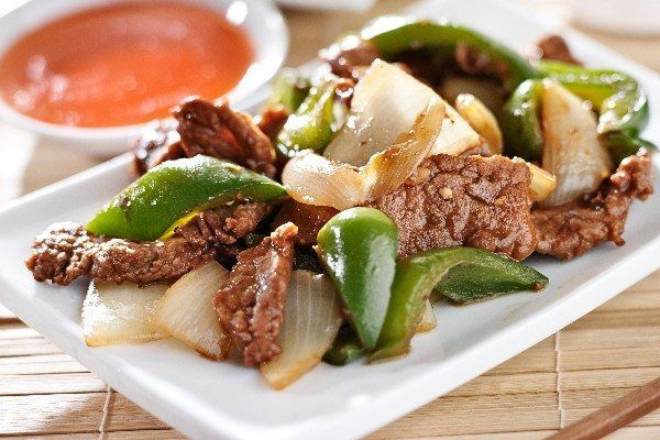 |   Slow Cooker Pepper Steak