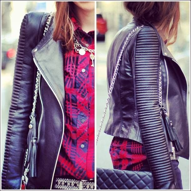 Style Guide: How to wear the leather jacket this autumn?