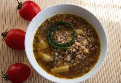 Гречневый суп с сушеными грибами » Аппетитно: кулинарные рецепты