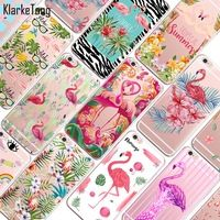 Cute Colorful Animals Flamingo Case For iphone 6 6S Transparent Clear Soft Silicone Phone Cover
