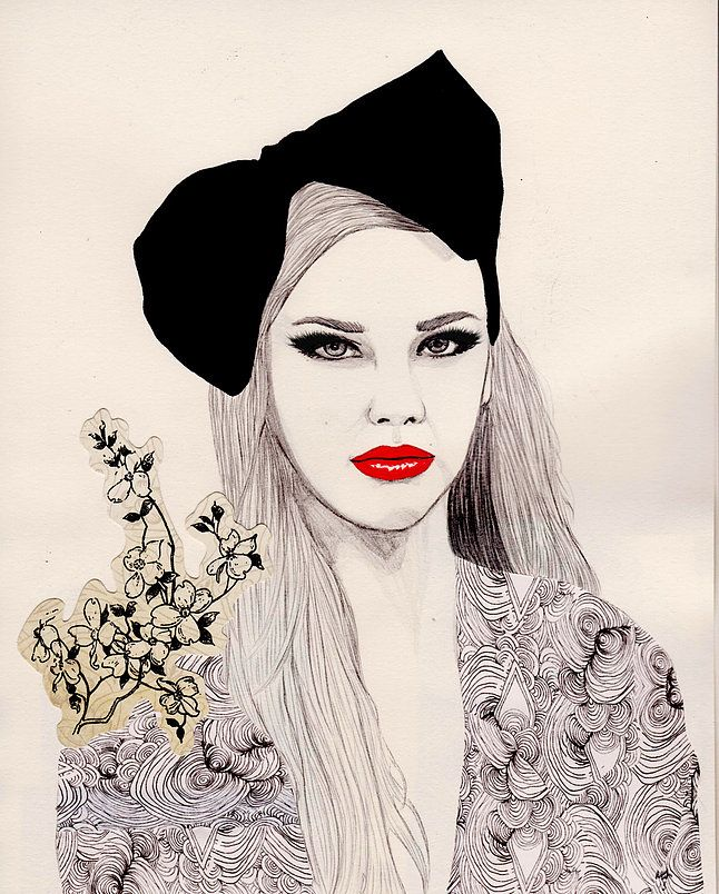 fashion-vignette | Fashion prints, Design studio, Vignette ...