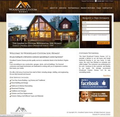 Website Redesign for Builders