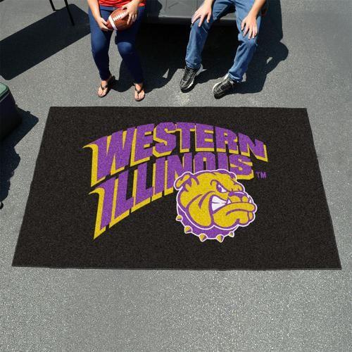 Western Illinois University 5' x 8' Tailgating Area Rug