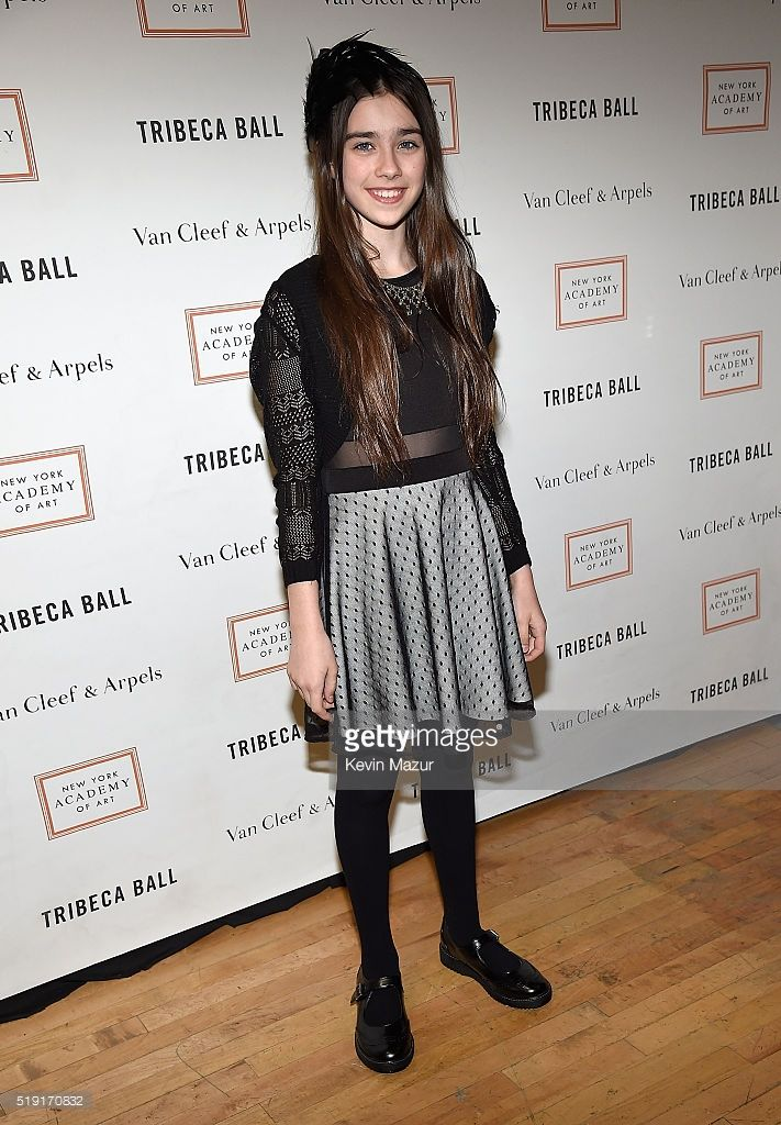 Sterling Jerins attends New York Academy Of Art's Tribeca Ball 2016 on April 4, 2016 in New York City.