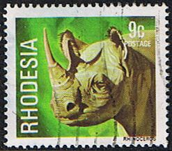 Rhodesia 1978 Wild Animals SG 560 Fine Used SG 560 Scott 398 Condition Fine Used Only one post charge applied on multipule purchases Details White