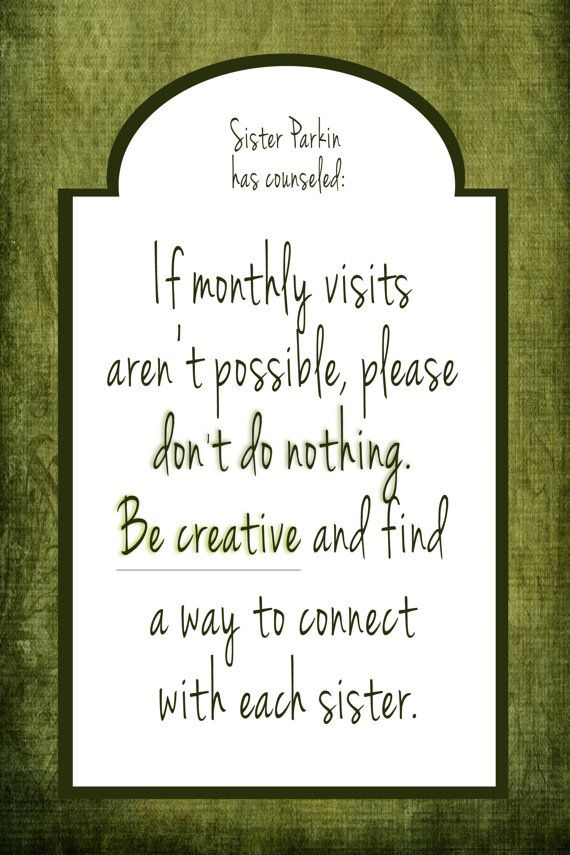 Religious Prints  LDS  Visiting Teaching Quotes  by ADoseOfDani, $12.00