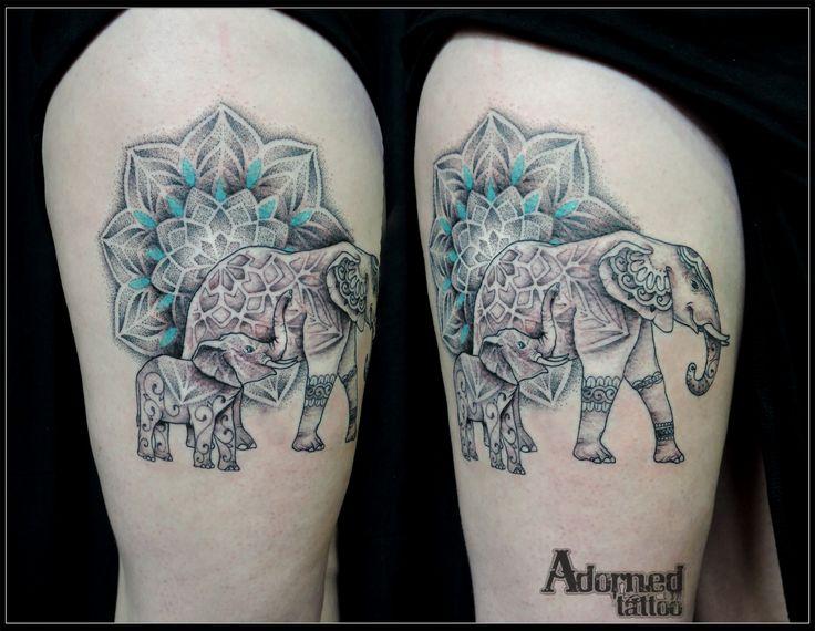 Mehndi Elephant Tattoo Meaning : The best mandala elephant ideas on pinterest